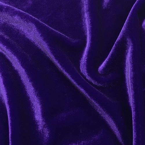 Purple Radiance Velvet Spandex, purple velvet, velvet fabric, purple fabric, purple velvet fabric