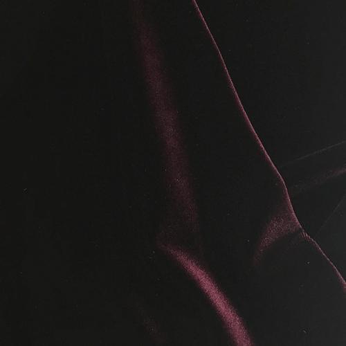 Burgundy Radiance Velvet Spandex, red fabric, red velvet fabric, velvet fabric