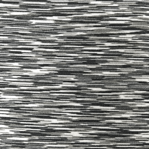 Black White Strata Space Dye Spandex, black and white fabric, space dye fabric, yoga fabric, activewear fabric