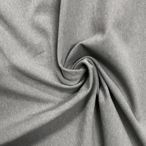 Heather Grey Moisture Wicking Supplex, Invista Supplex, grey fabric, heather grey fabric, heathered fabric