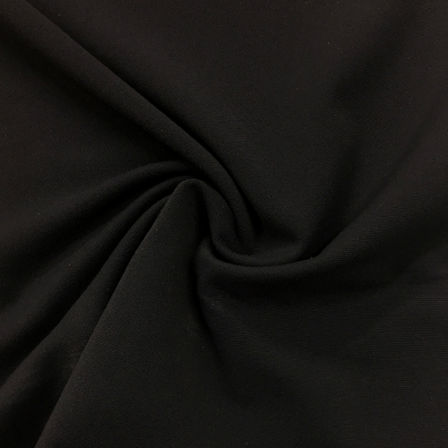 Black Moisture Wicking Supplex, Invista Supplex, sportswear fabric, black fabric