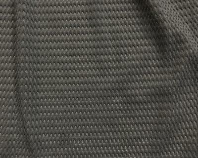 Grey Performance TexturedZig Zag Mesh, Zig Zag Mesh in Grey, textured grey mesh fabric, textured grey stretch fabric