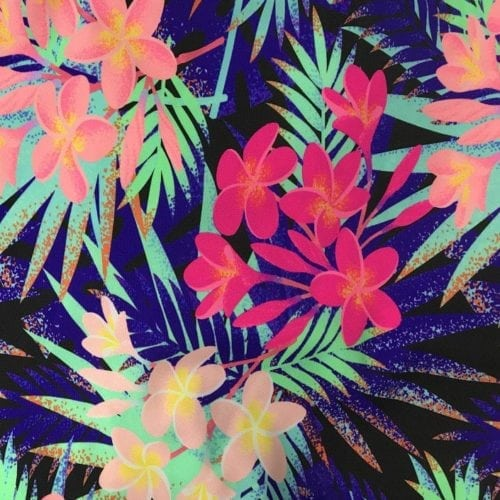 Fiji Floral Print, exclusive digital print, exclusive prints