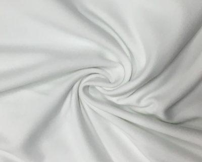 White Athletic ATY Nylon Fabric, Performance Wear Athletic Fabric, ATY Nylon activewear fabric, ATY Nylon spandex fabric, moisture wicking fabric, moisture wicking supplex, moisture wicking yoga fabric, spandex for leggings, stretch fabric for leggings, wholesale stretch fabric, ultra soft yoga fabric, sleek activewear fabric
