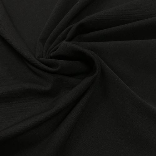 Black Heavy Micro Poly High Count Wicking Fabric, Micro Poly High Count Light wicking fabric, wicking stretch fabric, wicking spandex fabric, wicking activewear fabric, moisture wicking fabric, moisture wicking supplex