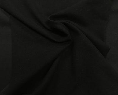 Black Double Brushed Spandex, double brushed fabric, double brushed spandex, stretchy double brushed fabric, double brushed cloth for leggings