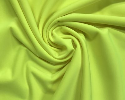 Neon Yellow Spectrum Pro Matte Tricot, matte tricot, creora highclo spandex, superior performance stretch, matte performance stretch, matte tricot spandex