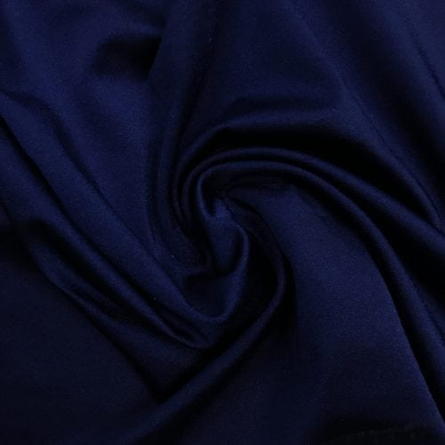 Matte Tricot in Navy Blue Spandex