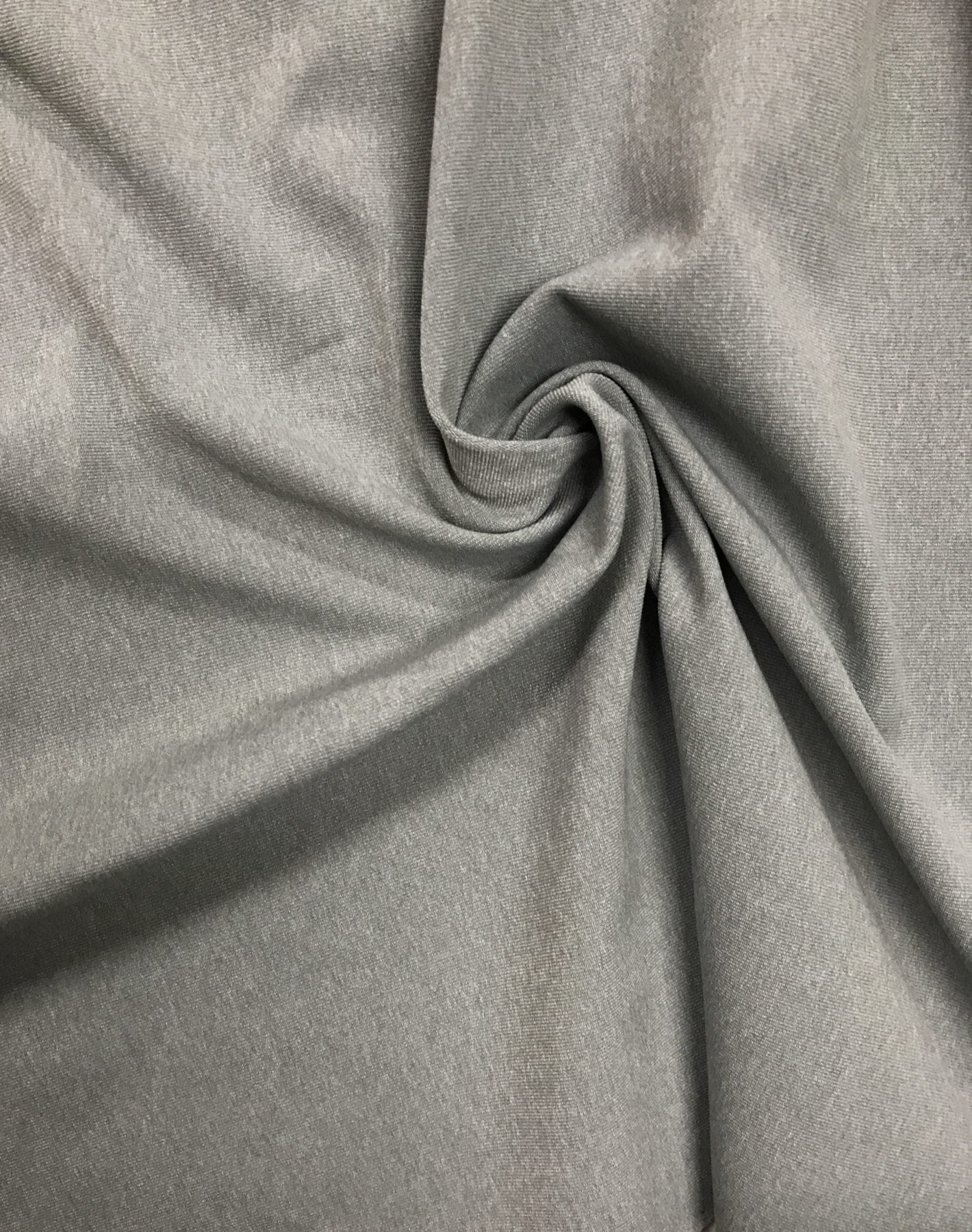 Heather Grey Moisture Wicking Supplex, Invista Supplex fabirc, moisture wicking activewear fabric, wicking supplex, moisture wicking supplex, supplex spandex