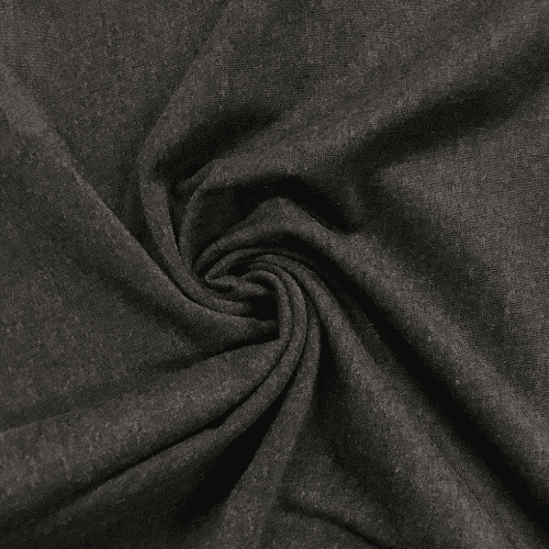 Charcoal Cotton Poly Lycra, cotton poly lycra, grey fabric, grey cotton fabric