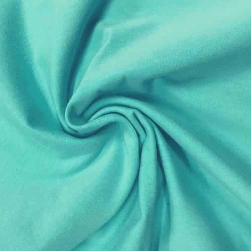 Aqua Cotton Poly Lycra, blue fabric, aqua fabric, wholesale blue fabric, cotton poly lycra