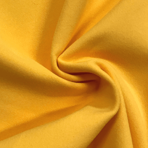 Gold Yellow Cotton Poly Lycra, yellow fabric, wholesale cotton lycra fabric,