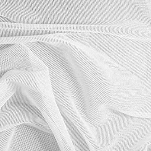 Printable Stretch Mesh, white mesh, mesh, wholesale mesh fabric
