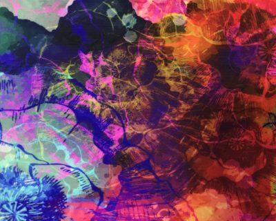 Exclusive Liquid Petals Digital Direct Print, exclusive digital print, exclusive prints
