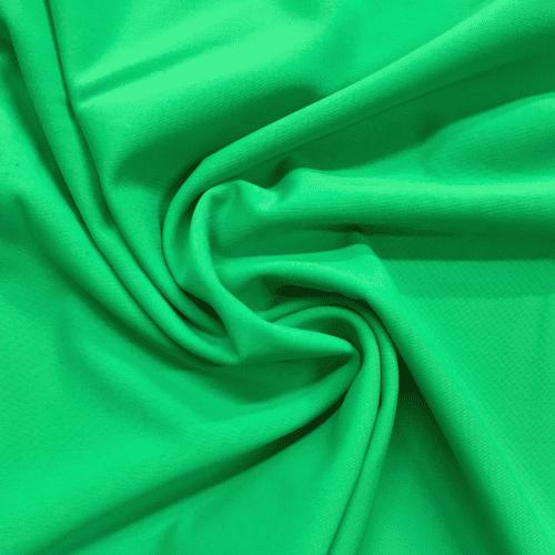 Grass Green Matte Tricot Spandex, discount fabric, green fabric, matte fabric