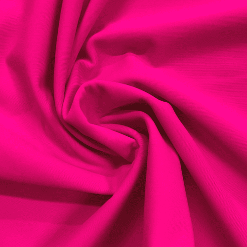 Bright Pink Matte Tricot Spandex, pink fabric, swim fabric, matte fabric, creora highclo fabric