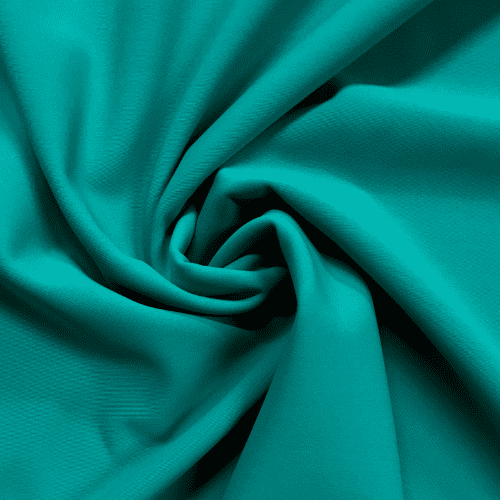 Teal Matte Tricot Spandex, teal fabric, blue fabric, swim fabric, creora highclo fabric