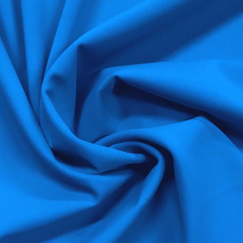 Turquoise Matte Tricot Spandex, blue fabric, swim fabric, creora highclo fabric