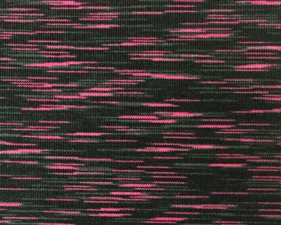 Pink, Black, Grey Space Dye Spandex, space dye stretch fabric, space dye spandex fabric, wholesale space dyed fabrics, black and grey space dye fabric, yoga pant stretch fabric, activewear spandex fabric, activewear space dye fabric, stretch fabric for yoga pants, spandex for leggings