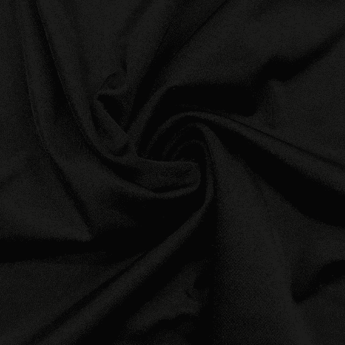 Black Shiny Tricot Spandex, black fabric, cheer fabric, dance fabric, swim fabric