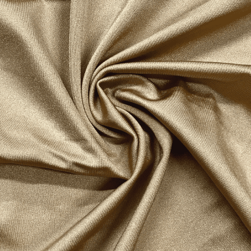 Gold Shiny Tricot Spandex, Gold fabric, shiny gold fabric, cheer fabric, dance fabric, swim fabric