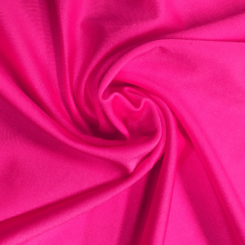 Hot Pink Shiyn Tricot Spandex, Pink fabric, shiny pink fabric, cheer fabric, swim fabric