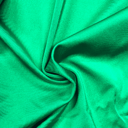 Kelly Green Shiny Tricot Spandex, green fabric, swim fabric, cheer fabric, discount fabric