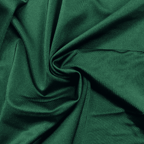 Forest Green Shiny Tricot Spandex, green fabric, dance fabric, cheer fabric, swim fabric