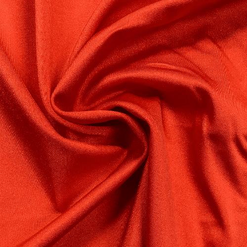Orange Shiny Tricot Spandex, orange fabric, cheer fabric, dance fabric, swim fabric