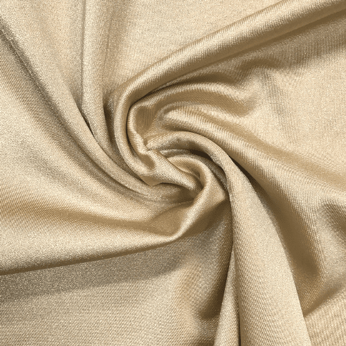 Toffee Shiny Tricot Spandex, gold fabric, nude fabric, cheer fabric, swim fabric