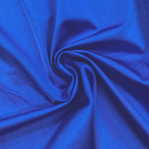 Royal Shiny Tricot Spandex, Blue fabric, dance fabric, cheer fabric