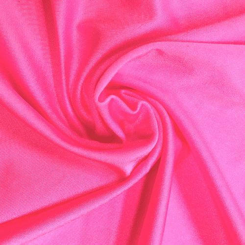 Bubblegum Pink Shiny Tricot Spandex, pink fabric, cheer fabric, swim fabric, shiny fabric,