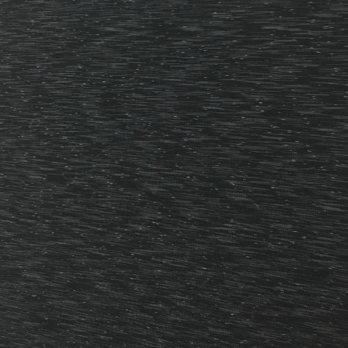 Black Grey Strata Space Dye Spandex, black fabric, yoga fabric