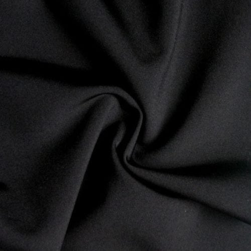 Black Performance Stretch Lining Fabric, black stretch lining, stretch lining, performance stretch lining, activewear stretch lining, stretchy athletic lining