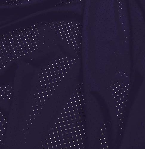 Perforated Mesh in Navy Blue
