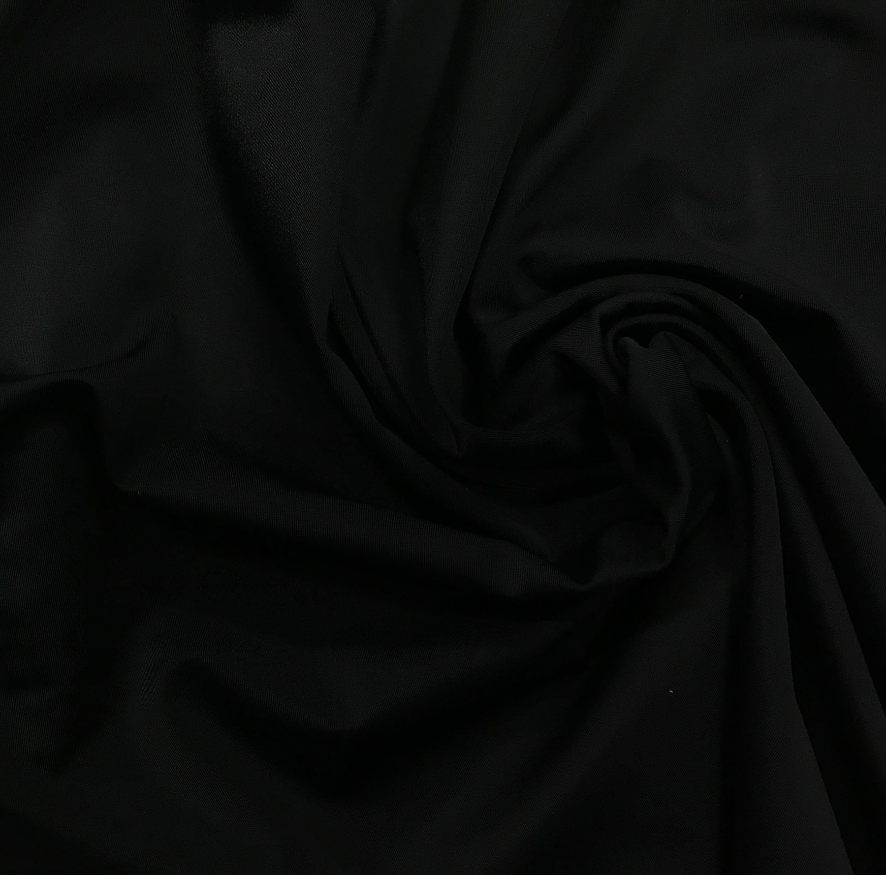 performance wear fabric, black yoga fabric, stretch yoga fabric, spandex fabric for yoga wear, solid stretch fabric, athletic knit for yoga, athletic kint for performance sports