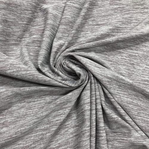 Undefined Stripes in Heathered Grey