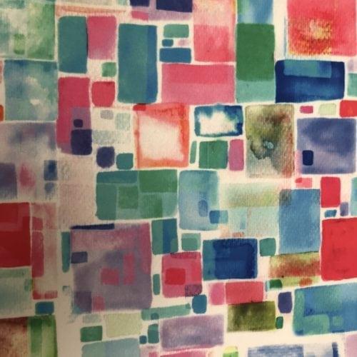 Multi Cubes Paper Print