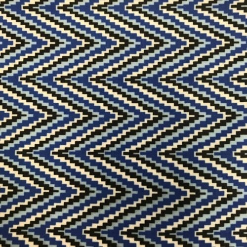 Light and Dark Blue Chevrons