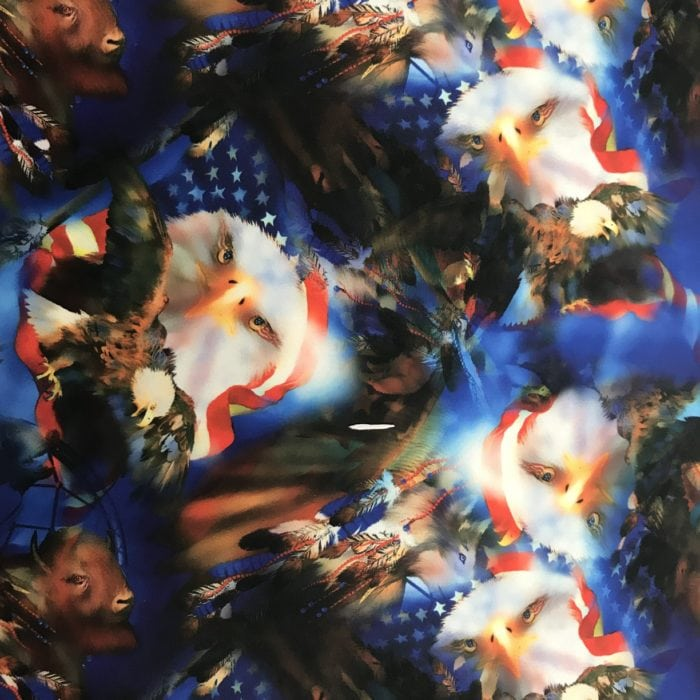 4th of july print, america spandex prints, usa spandex prints