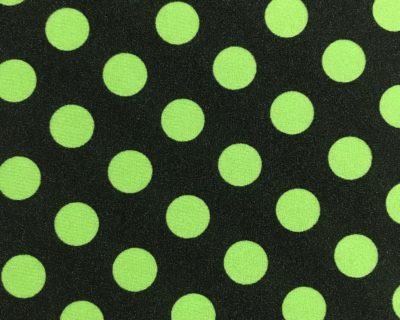 Polka dot print, Green polka dot fabric, polka dot fabric