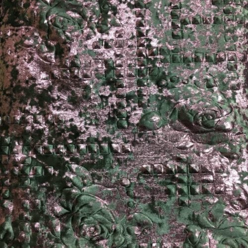 Embossed fabric, embossed floral fabric, embossed spandex