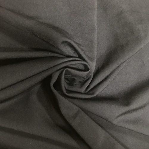 Solid Black Fabric, Black Solid Spandex, Performance Wear Spandex