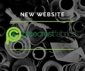Press Release: Pine Crest Fabrics Announces New Website