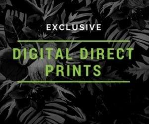 Digital Direct prints, exclusive prints, colorful prints
