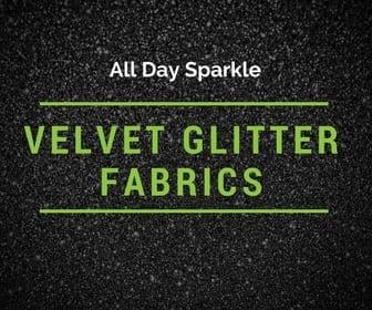 Velvet glitter fabric. glitter fabric, velvet fabric
