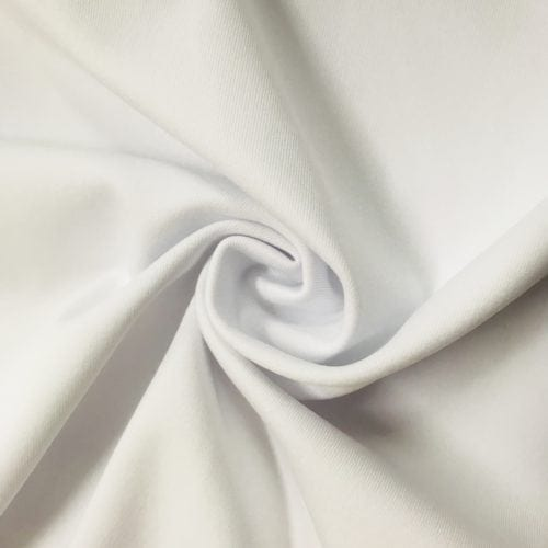 White cobra spandex, white spandex, white swim fabric