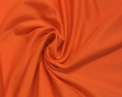 Tangerine Lightweight Spandex, orange fabric, discount fabric