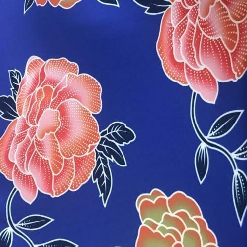 Summer florals print fabric, summer florals print spandex, floral swim fabric