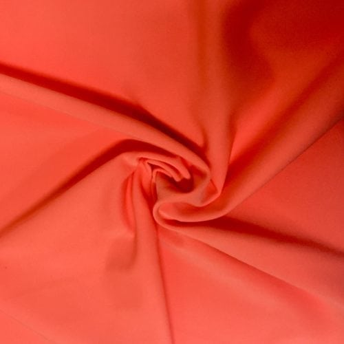 Guava Drifit Spandex, orange fabric, discount fabric